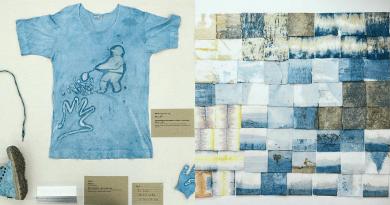 藍染當道!種藍草、產靛泥 一場展覽細說藍染的故事