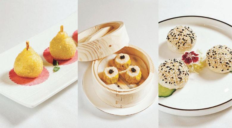 IG-able中餐廳 奢華歐陸風純白建築配創新手工點心 總廚心機之作 必食流心鵪鶉蛋燒賣