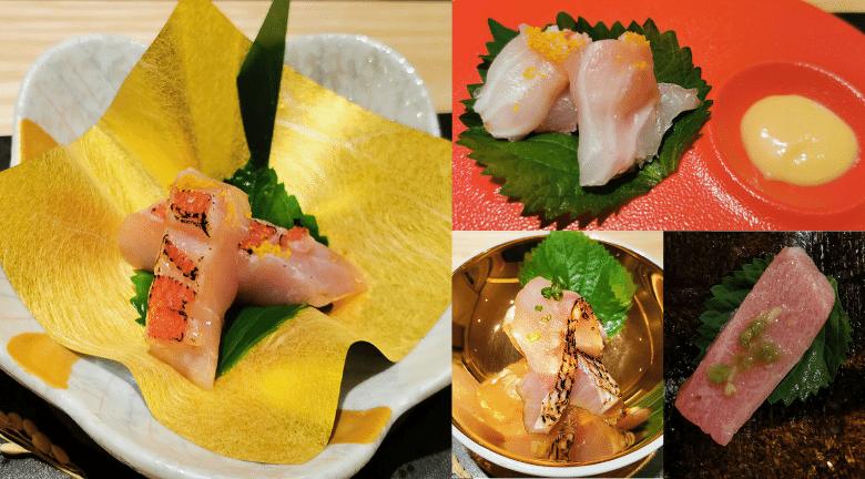 Sushi Zing星薈館 X 麥華章|主打日式Omakase 粵菜館藏日式料理 金目鯛刺身、拖羅紫菜卷、赤鯥刺身 必食之選