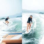 【水上活動】學玩無繩滑水!訓練肌肉記憶與水感 新手注意正確姿勢 擺靚pose打卡
