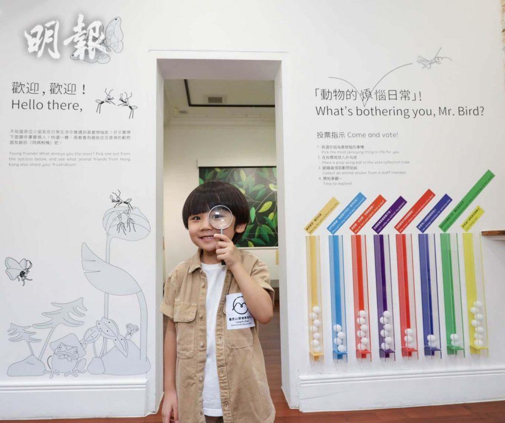 「動物的煩惱日常」展覽@龍虎山環境教育中心(圖片由相關機構提供)