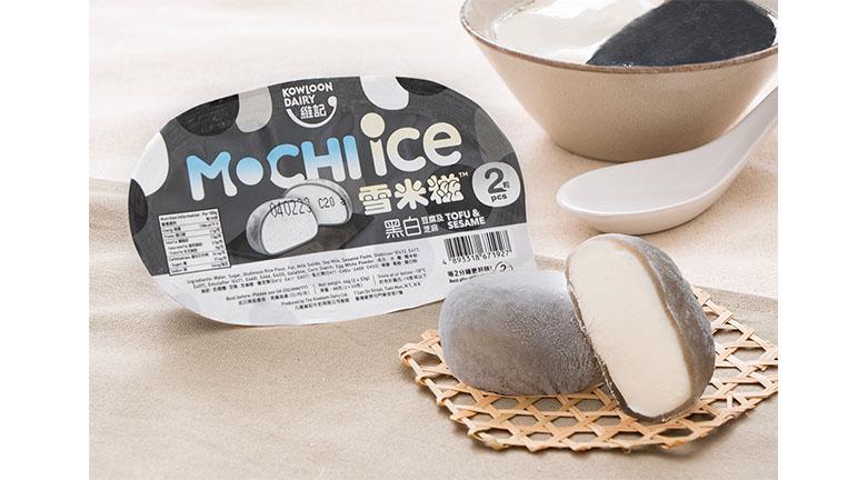 維記豆腐及芝麻(黑白)雪米糍<br>帶出懷舊甜品風味
