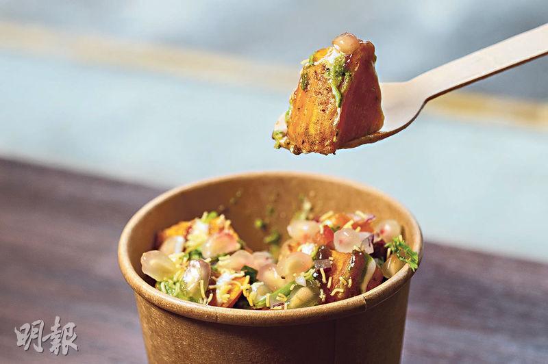 灣仔隱世外賣小食店 特製印度街頭卷餅 100%地道風味 啖啖肉 酥香又juicy