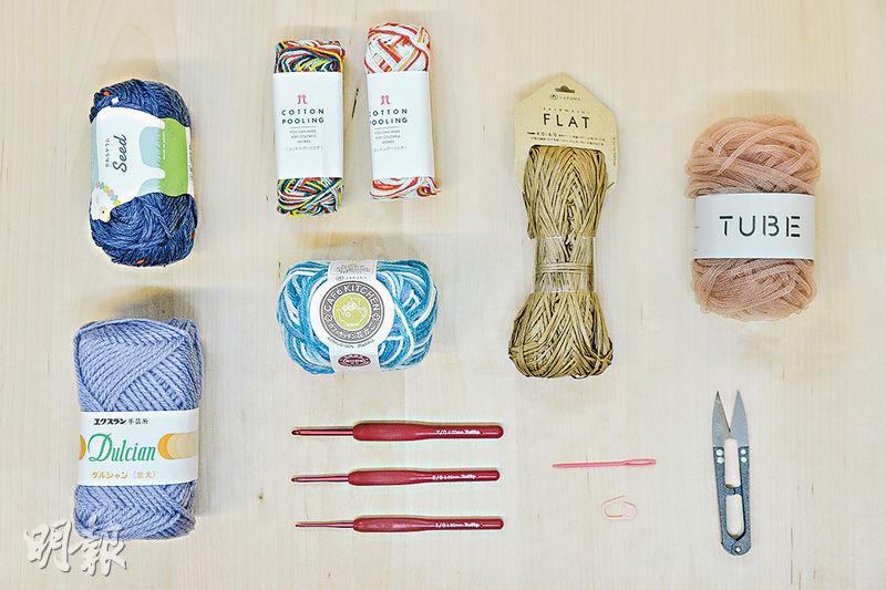 學DIY織物 一鈎一線變出萬千花樣 公仔、毛氈、杯墊一學便會