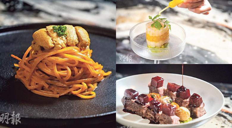 美術館 X 意日fusion菜 一邊食一邊欣賞樹脂流體畫 必食廚師推介黑松露慢烤雞
