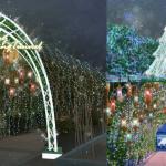 YOHO MALL形點呈獻 全港首個奇幻仙子國度 6米高極光玻璃聖誕樹、4.5米高巨型聖誕花、寶石吊燈萬花筒 帶你走進神秘炫彩森林