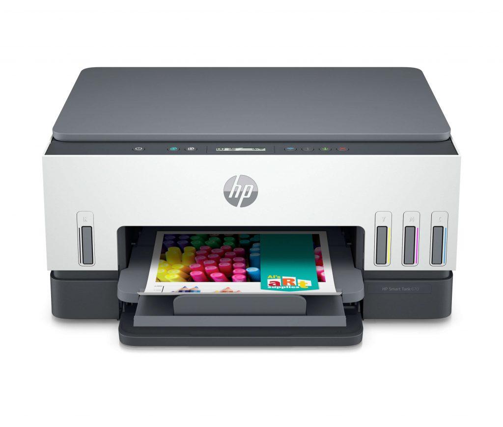 HP 全新Smart Tank 智醒供墨系統多合一打印機 3款全新型號提供全新進階功能